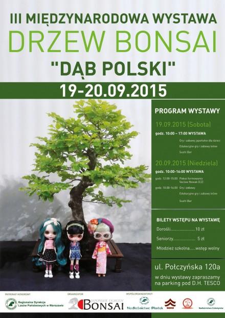 Wystawa bonsai w Warszawie
