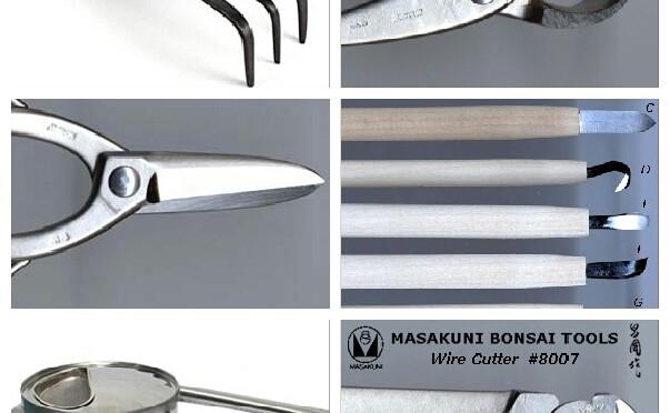 Podstawowe narzędzia do kształtowania i pielęgnacji bonsai