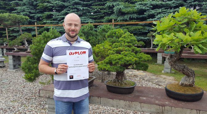 Zakończenie nauki w Warszawskiej Szkole Bonsai