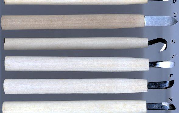 Narzędzia do ręcznego robienia martwego drewna na bonsai