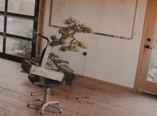 Podstawki pozycjonujące pomagają utrzymać drzewko w docelowej pozycji podczas formowania