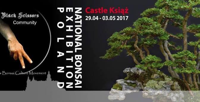 Wystawa bonsai w Książu (29.04. – 03.05.2017)