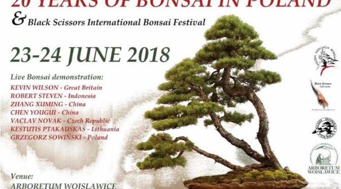 20 lat bonsai w Polsce, 23-24 czerwiec 2018, Wojsławice